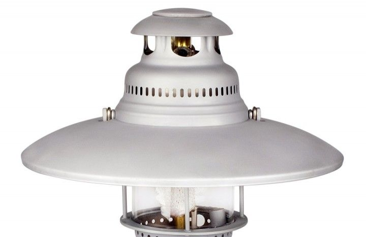 Petromax Reflektorschirm HK 500/ HK 350 BW matt  Der Reflektor in BW matt für blendfreies Licht