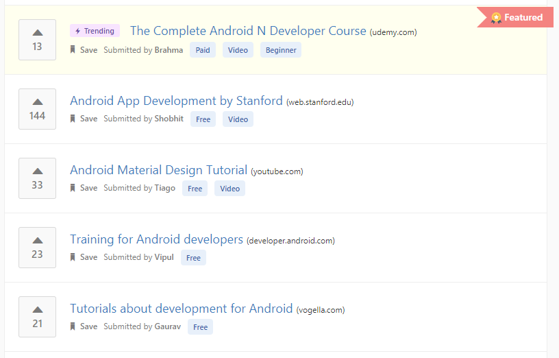 Learn Android development online from the best Android
