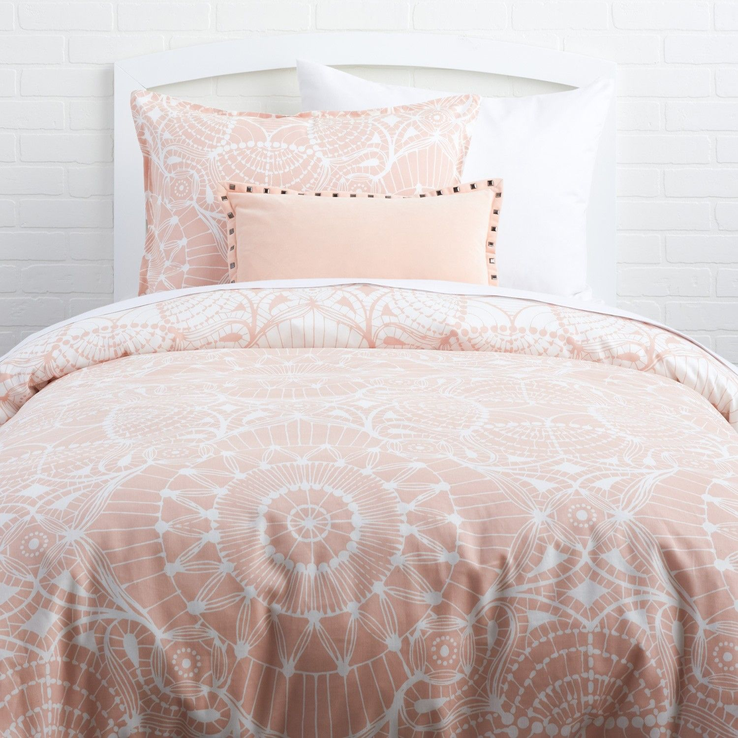 Dreamweaver Reversible Duvet And Sham   Duvet Covers   Bedding