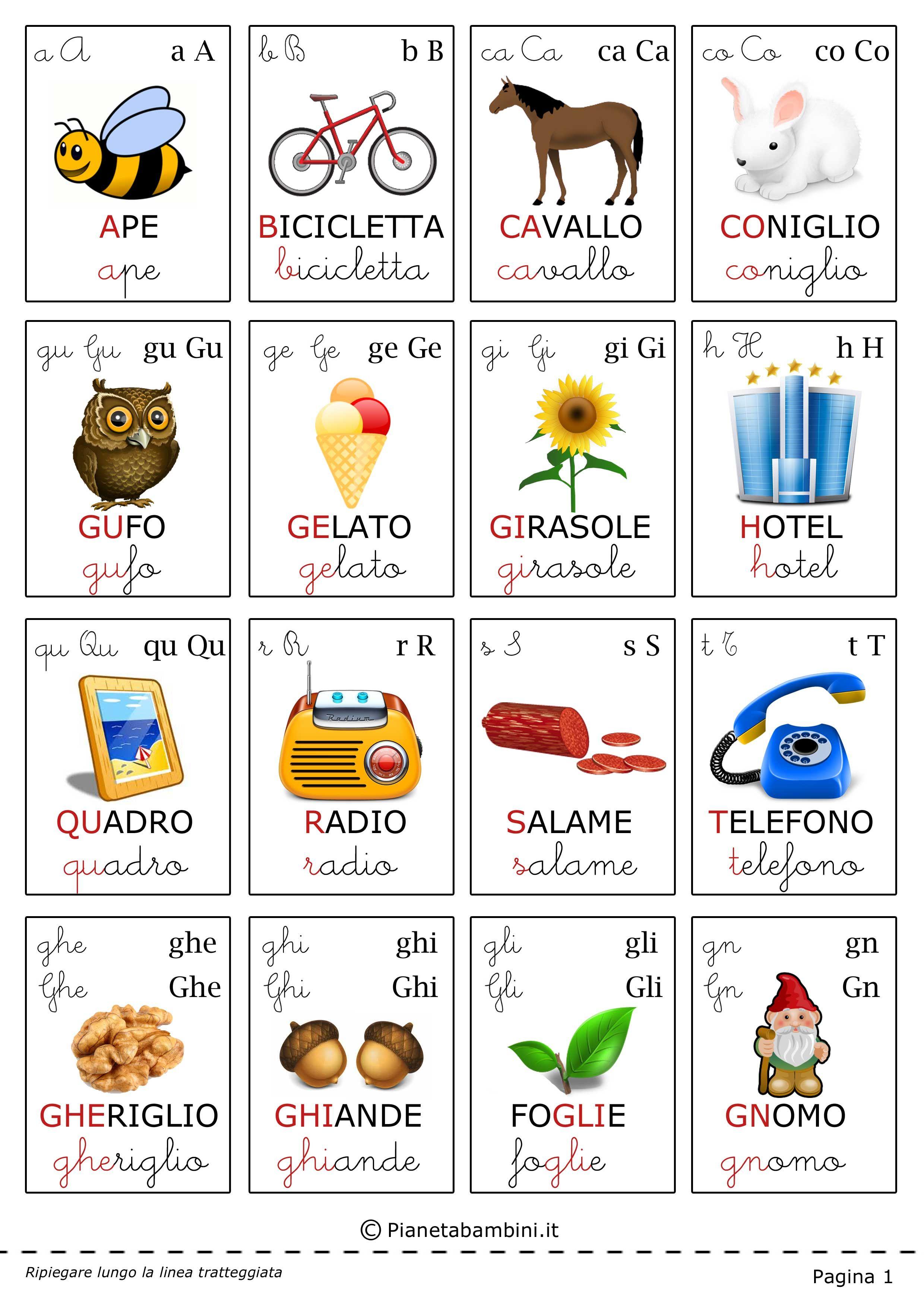 Istruzione ALFABETO LETTERA FLASH CARDS per casa scuola o aule