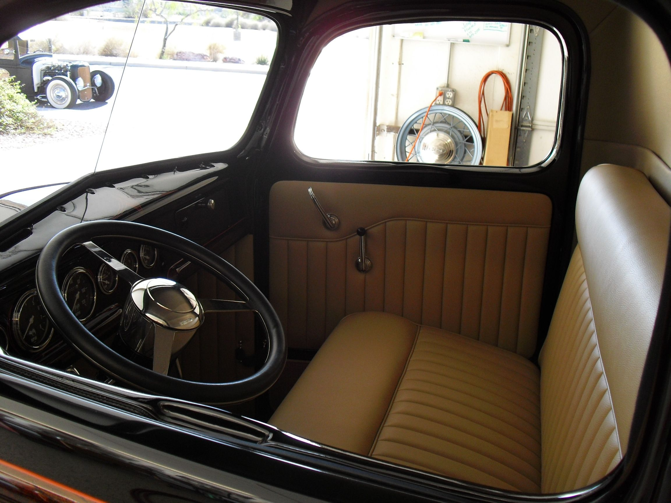 Hot Rod Interiors Upholstery Ford Pickup Hot Rod Interiors By Glennhot Rod Interiors By