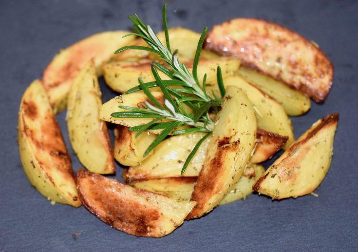 Kartoffelspalten mit Rosmarin - Zimt & Chili