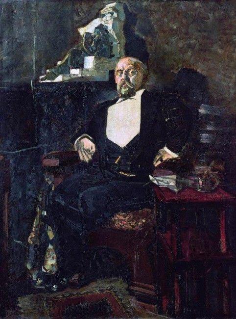 Портрет Мамонтова, Врубель, 1897