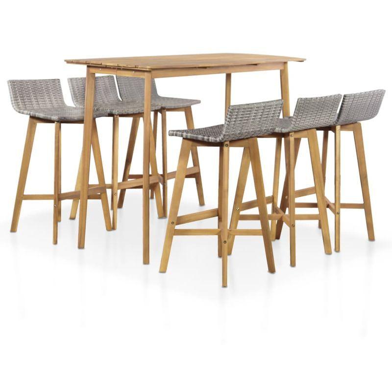 Salon De Jardin En 2020 Meubles De Jardin En Rotin Table Et Chaises De Jardin Meubles De Jardin Design