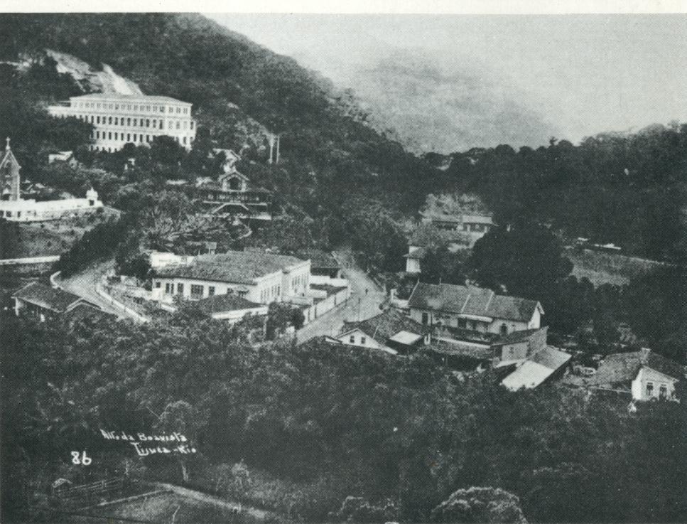 Alto Da Boa Vista Anos 1930 A Esquerda A Igreja N S Da Luz E O