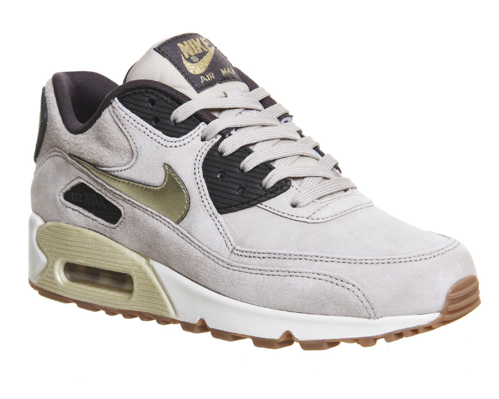 String Metallic Gold Grain Nike Air Max 90 W From Office Co