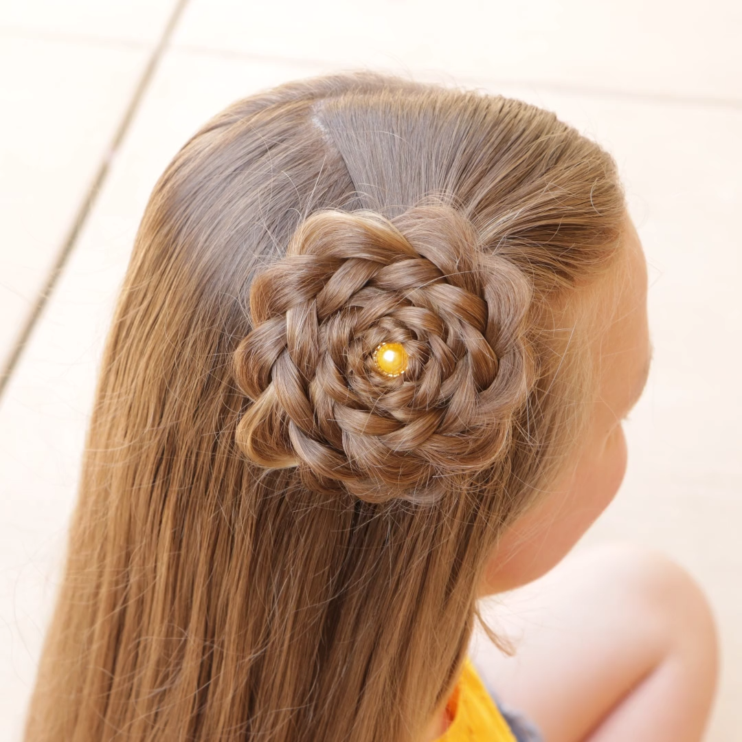 How to Make a Hair Flower by Erin Balogh