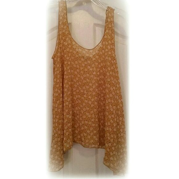Floral Flowy Tank Very light and flowy top! Papaya Tops Tank Tops