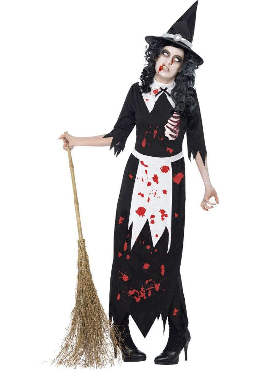 zombie authentic salem witch costume halloween costumes at escapade - Salem Witch Halloween Costume