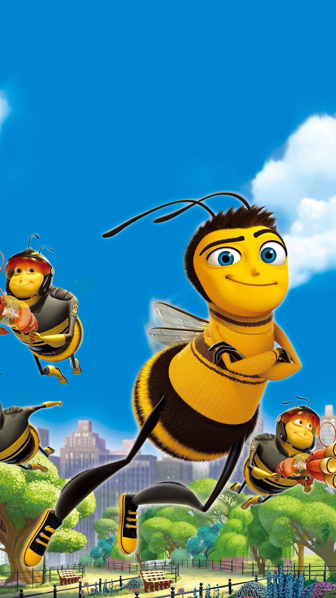 Bee Movie 2007 Phone Wallpaper Moviemania Bee Movie Disney Drawings Disney Wallpaper