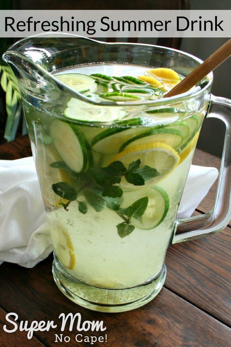 Refreshing Summer Drink #refreshingsummerdrinks
