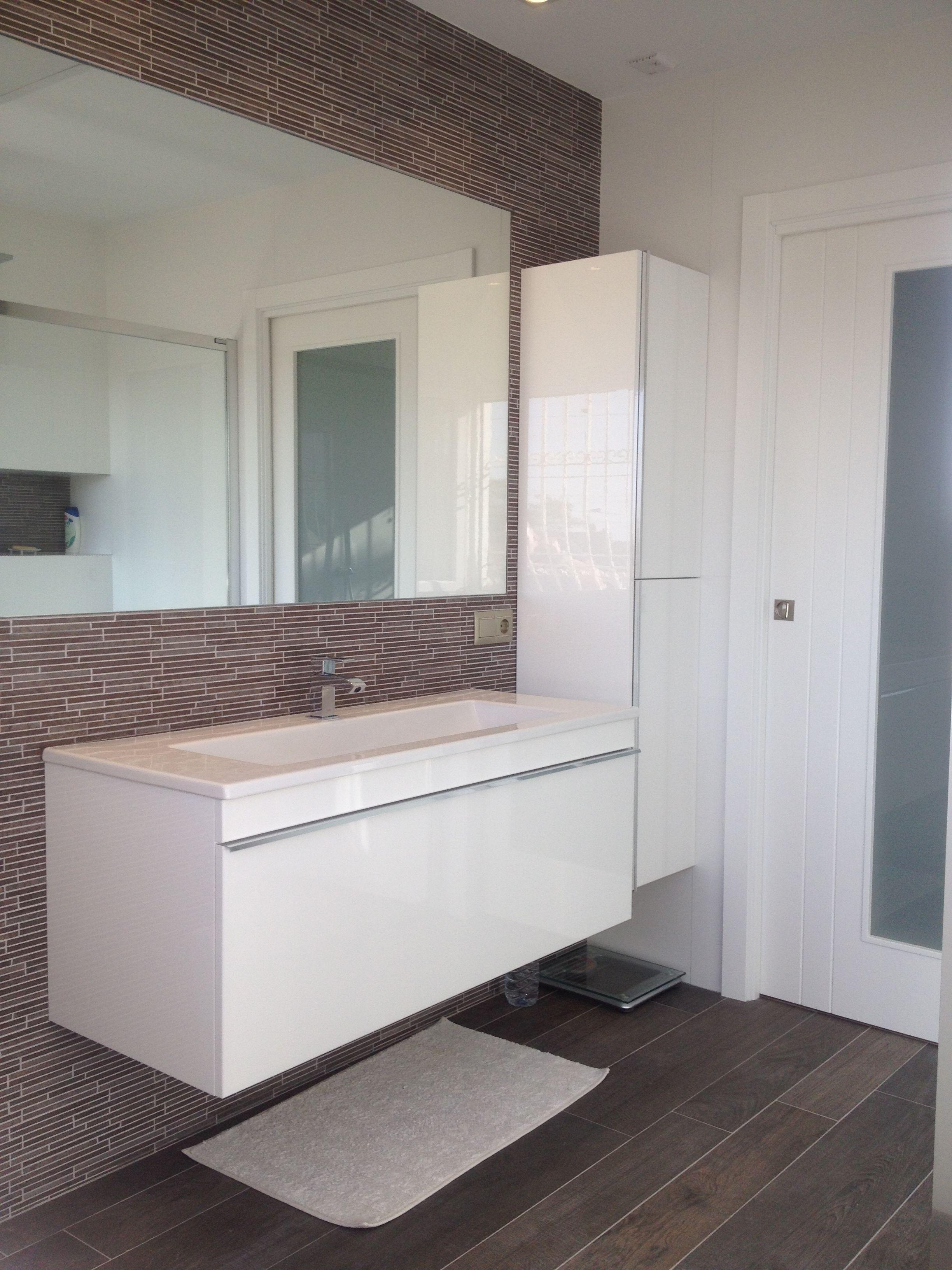 #Reforma del baño de una vivienda situada en El Rebolledo ...