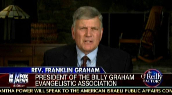 Rev. Franklin Graham: Obama's Mother 'Must Have Been A Muslim' (AUDIO)