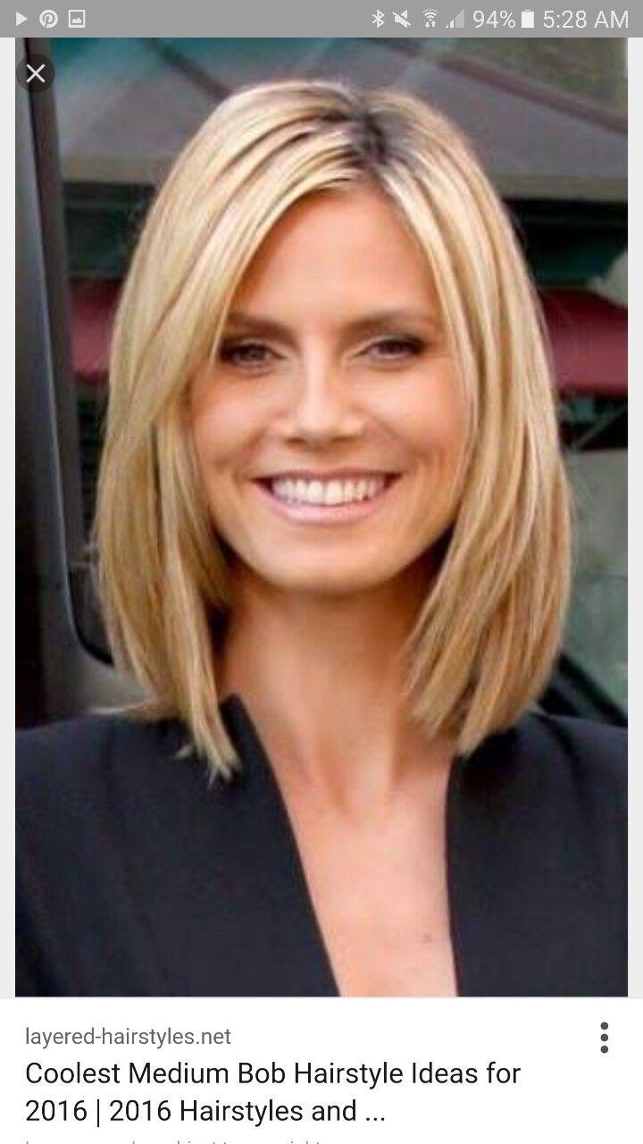 Womens medium hairstyles | personal pins in 2019 | Hair, Hair styles ...