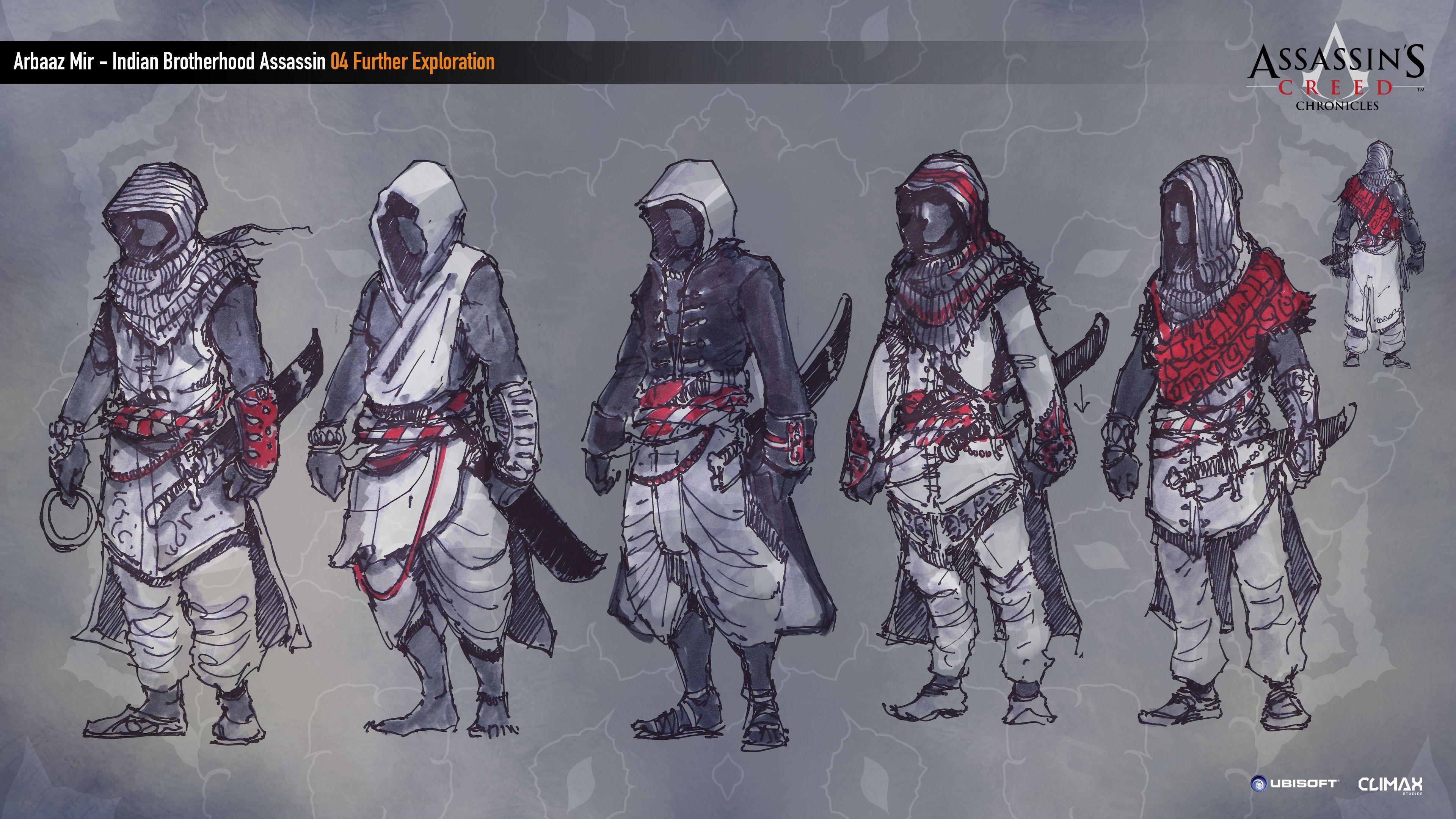 Assassin S Creed India Concept Art Assassins Creed Assassin S