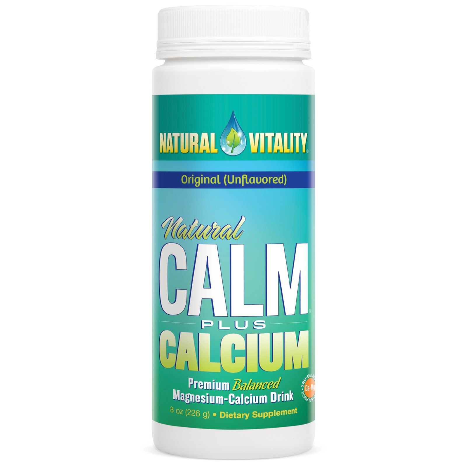 Natural Vitality, Natural Calm Plus Calcium, Original