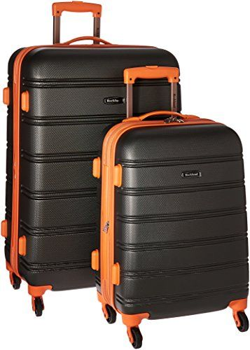 Rockland 20 28 2pc Expandable Abs Spinner Set Charcoal
