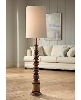 Currey And Company Malayan Brown Floor Lamp 66h39 Lamps Plus In 2020 Brown Floor Lamps Floor Lamp Styles Floor Lamp