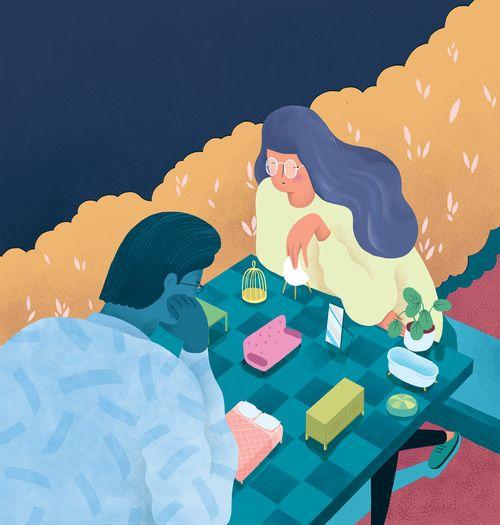 Illustration for The Washington Post by Marina Muun