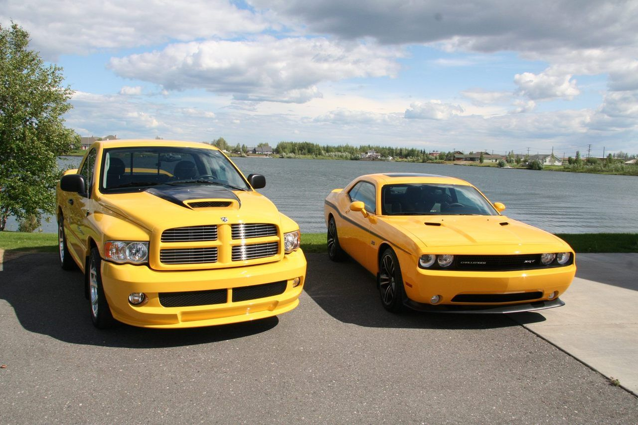 Yellow Fever Ram Srt 10 Vs Jacket Challenger 8