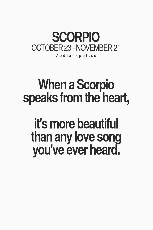 Scorpio lover needs