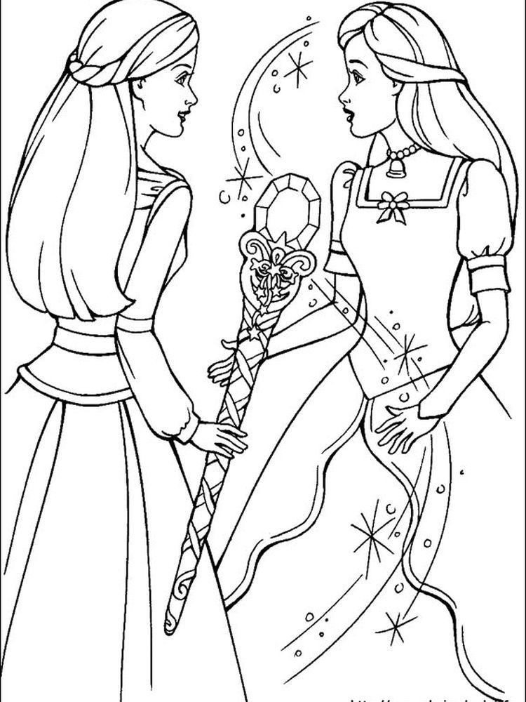 Barbie Coloring Book Pages Pdf You Can Ask All Girls In The World Who Doesn T Know Barbie The Barbie Coloring Pages Cartoon Coloring Pages Coloring Pictures