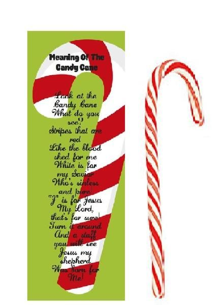 Meaning Of The Candy Cane Bookmarks With Candy Canes 24 Pack Candy Cane Game Candy Cane Story Candy Cane Crafts