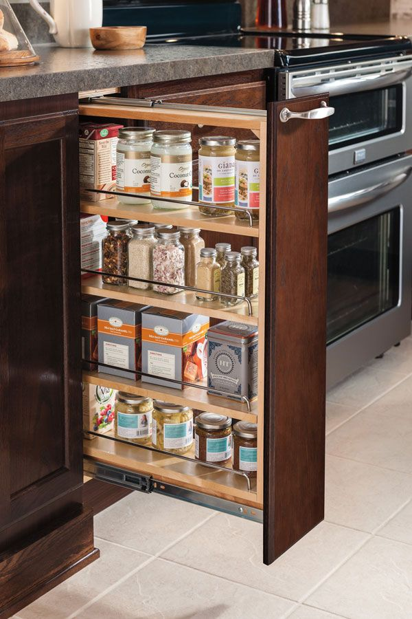 our 6 base pullout cabinet makes excellent use of narrow deep spaces and keeps your supplies on kitchen organization cabinet layout id=12568