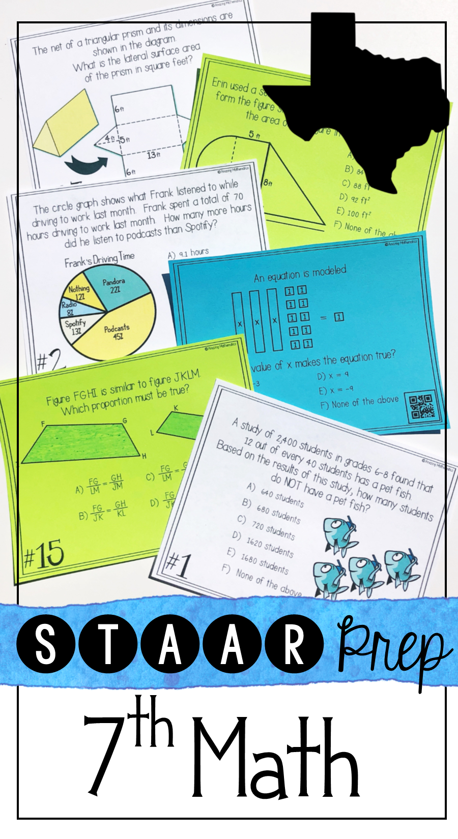 This 7th grade staar prep set was the perfect way for my 7th grade ...