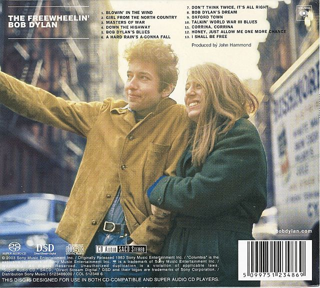 Bob Dylan - The Freewheelin' Bob Dylan [SACD rip in 24-bit