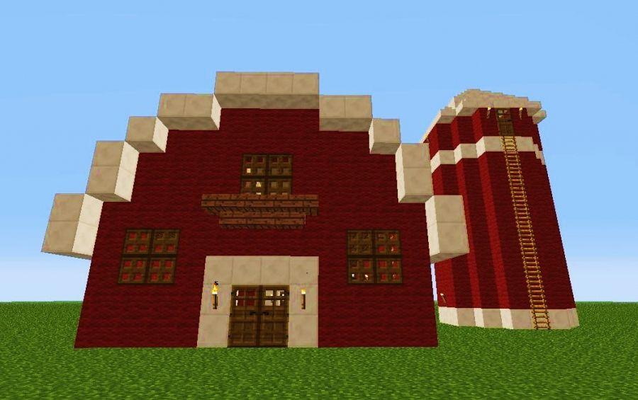 Small Barn 1, creation #666 | minecraft | Pinterest | Barn ...