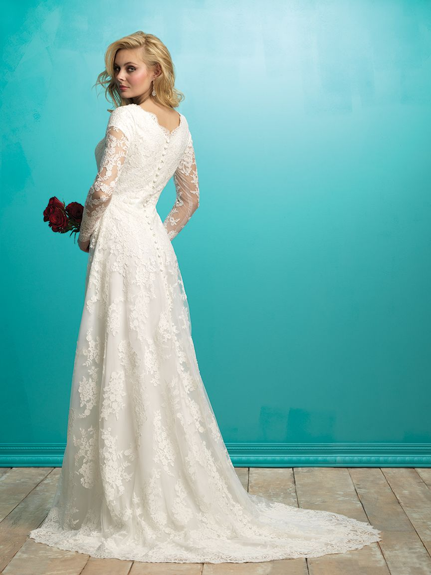 Allure Bridals: Style: M541 | ALLURE M O D E S T | Pinterest ...