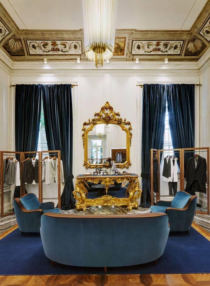 Dolce&Gabbana menswear flagship store in Milan on Corso Venezia ...