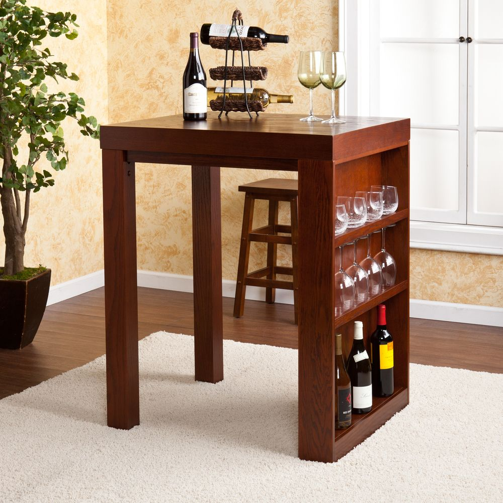 Upton Home Benton Mahogany Bistro Table   Overstock™ Shopping   Great Deals  On Upton Home