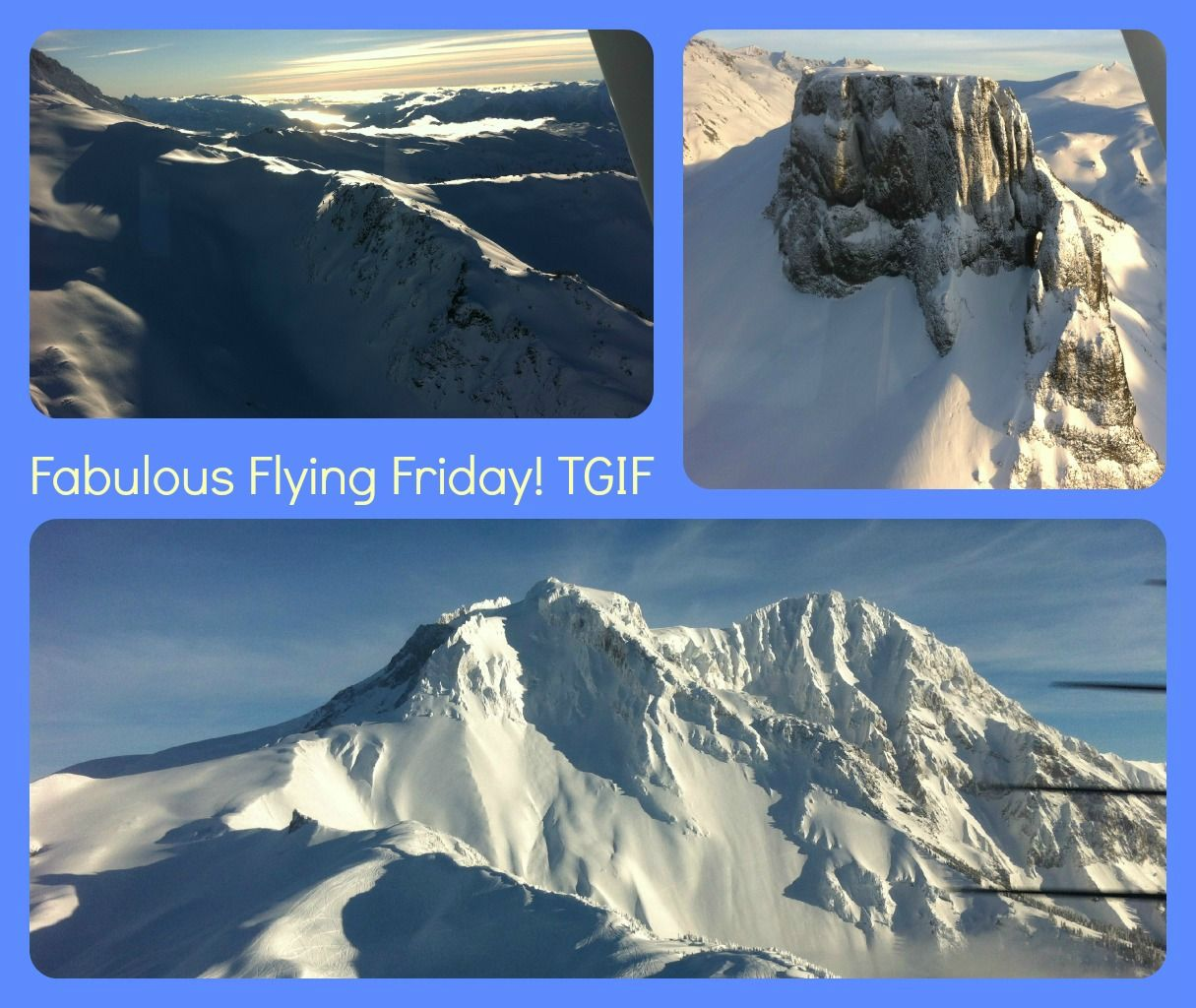 TGIF Fabulous Flying Friday! Living the life one cloud at