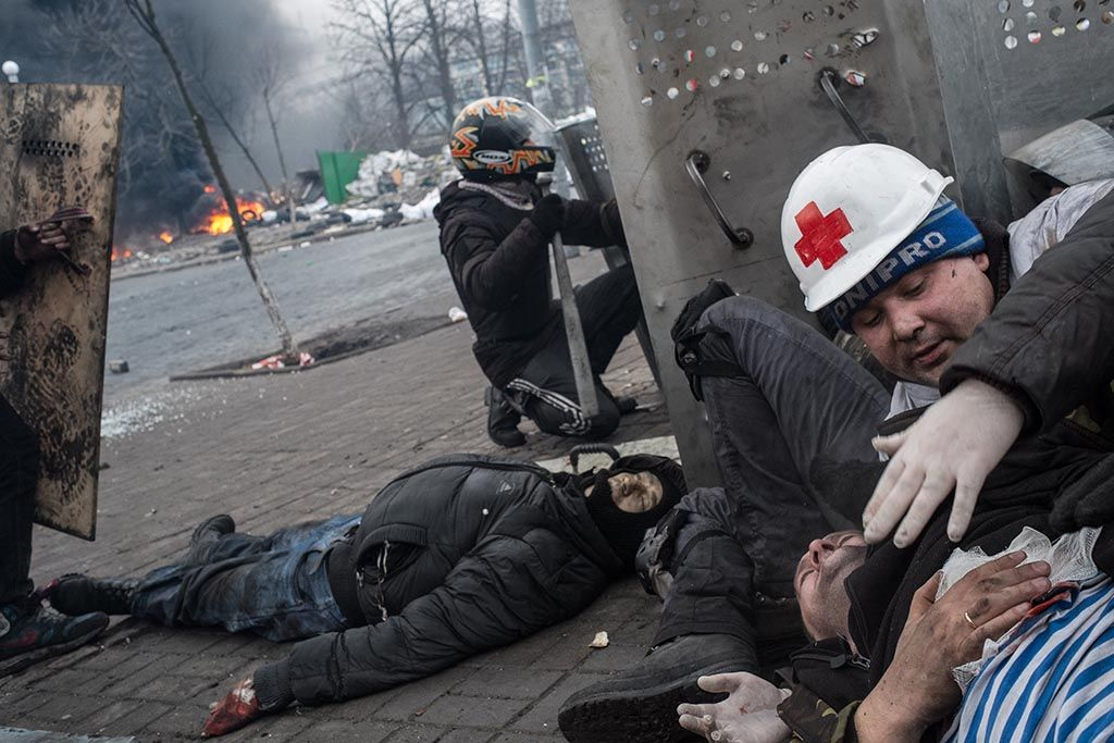 Heroes from Maidan - Eric Bouvet