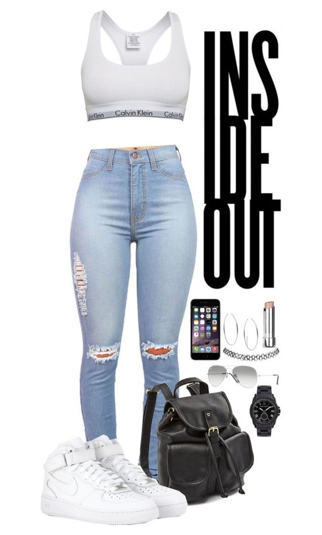 """""""7/17/2015"""" by goldenhippy ❤ liked on Polyvore featuring moda, Calvin Klein, NIKE, Ray-Ban, Wet Seal, Michael Kors, Stila y Vince Camuto"""