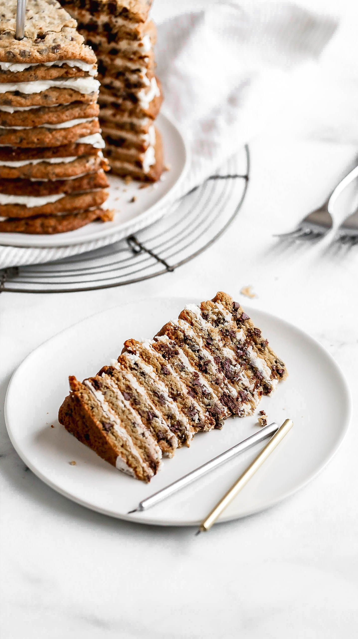 This Chocolate Chip Cookie Layer Cake Is PERFECT For Any Lover Ditch The Birthday And Go With 10 Stack Of Delicious