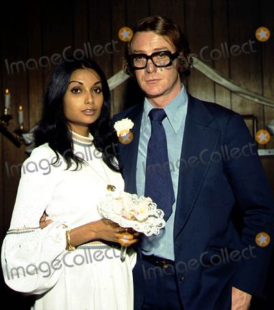 Michael And Shakira Caine Photo Globe Photos Inc Michaelcaineretro Celebrities Celebrity Weddings Shakira