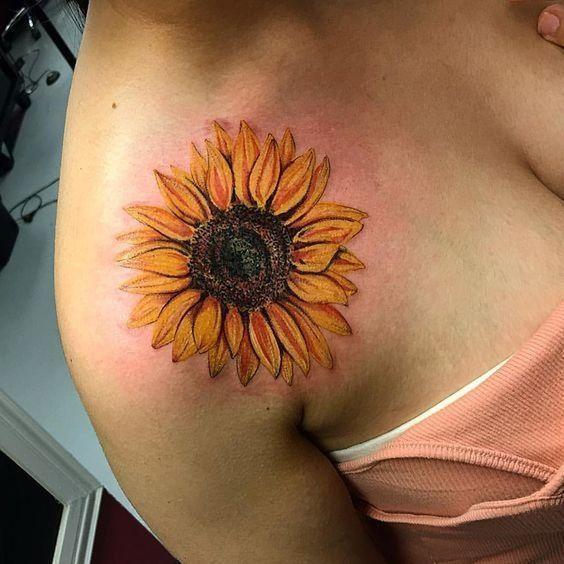 50 The Sunflower Tattoo Most Worthy Of Trying 2020 - 247day -  50 The Sunflower Tattoo Most Worthy Of Trying 2020 – 247day  - #247day #decorart #decorsmallspaces #decorvideos #disneytatto #diybedroom #diychristmas #diydekoration #diymanualidades #dragontatto #mandalatatto #mediterraneandecor #naturetatto #rosetatto #simpletatto #sunflower #sunflowertatto #tattofrauen #tattoo #trying #worthy