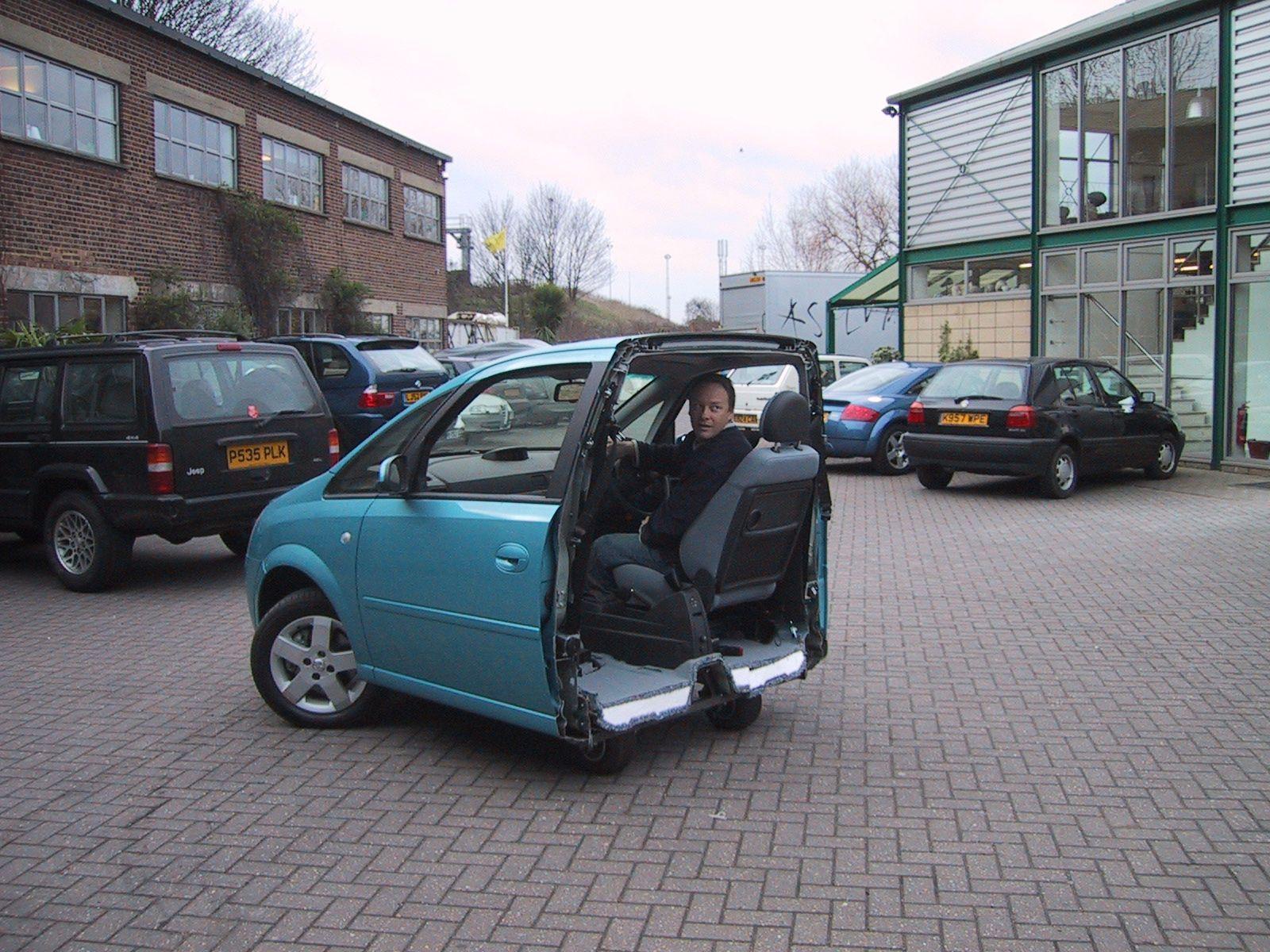 Vauxhall Meriva Electric Split Car