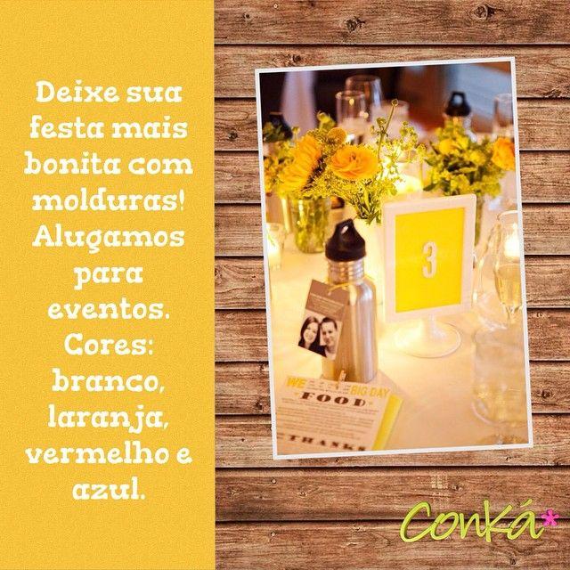 #ikea #molduras #frames #party #festa #decor #decoração #festapersonalizada #festainfantil #novidade #azul #vermelho #laranja #branco #foto #10x15 #aluguel #conká #kids