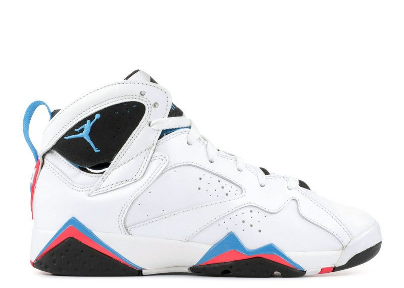 b6976cfe271fe5 2018 Big Discount AIR JORDAN 7 RETRO GS ORION white orion blue-black-infrrd  304774 105 Sale