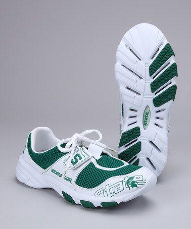 eens deze Kijk State Women Green Michigan Sneaker By naar Kelly sthrQd