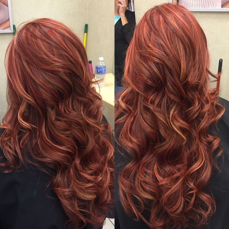 Image result for reddish brown hair with highlights hair image result for reddish brown hair with highlights pmusecretfo Gallery