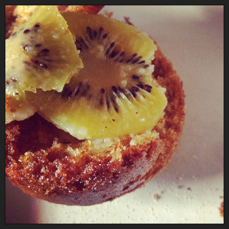 Kivi cupcake