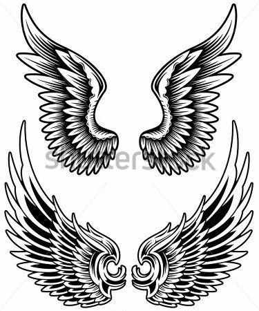 Resultado De Imagem Para Asas Old School Tattoo Pinterest
