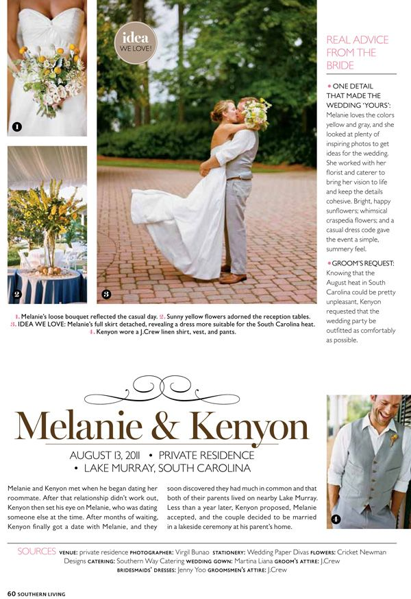 Published Southern Weddings Wedding Southern Weddings Charleston Wedding Photographer