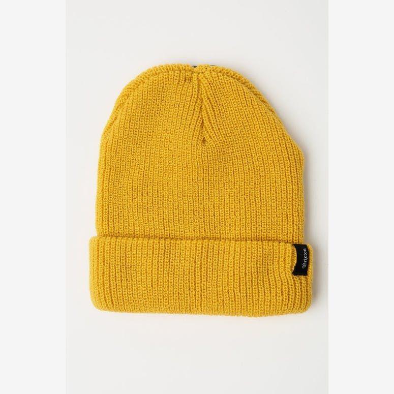 c7183d3a3 Brixton Heist Beanie Mustard in 2019 | Clothes | Beanie, Knitted ...