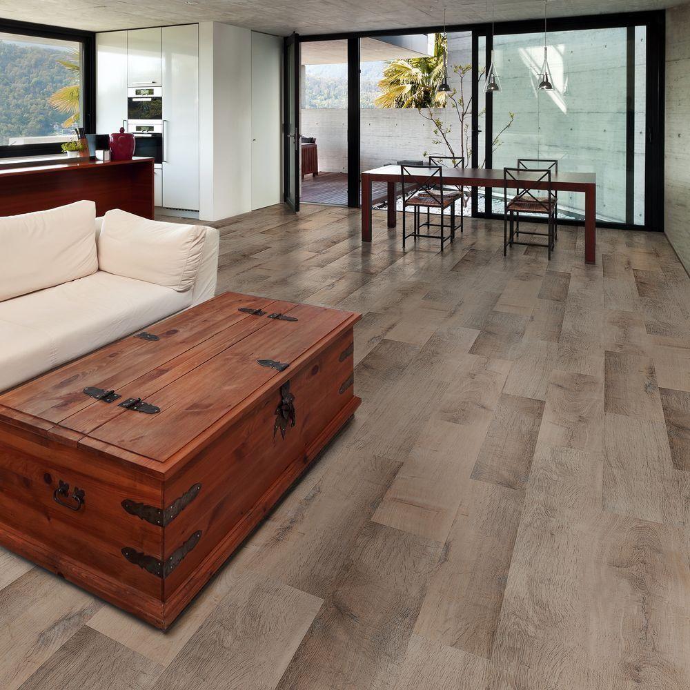 Allure ISOCORE Golden Oak White 8.7 in. x 47.6 in. Luxury